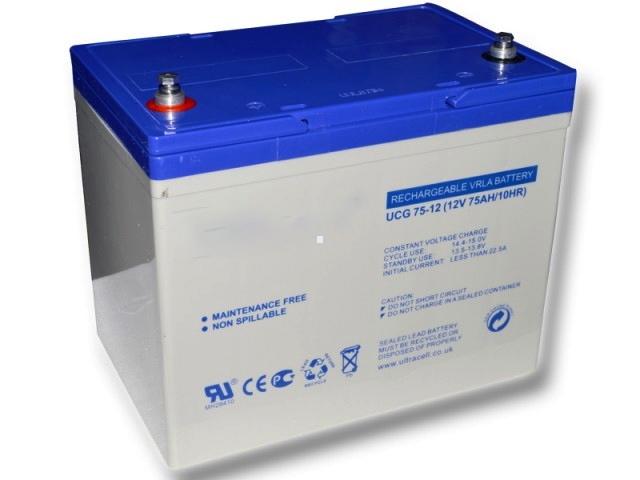Baterie 12V 75 Ah
