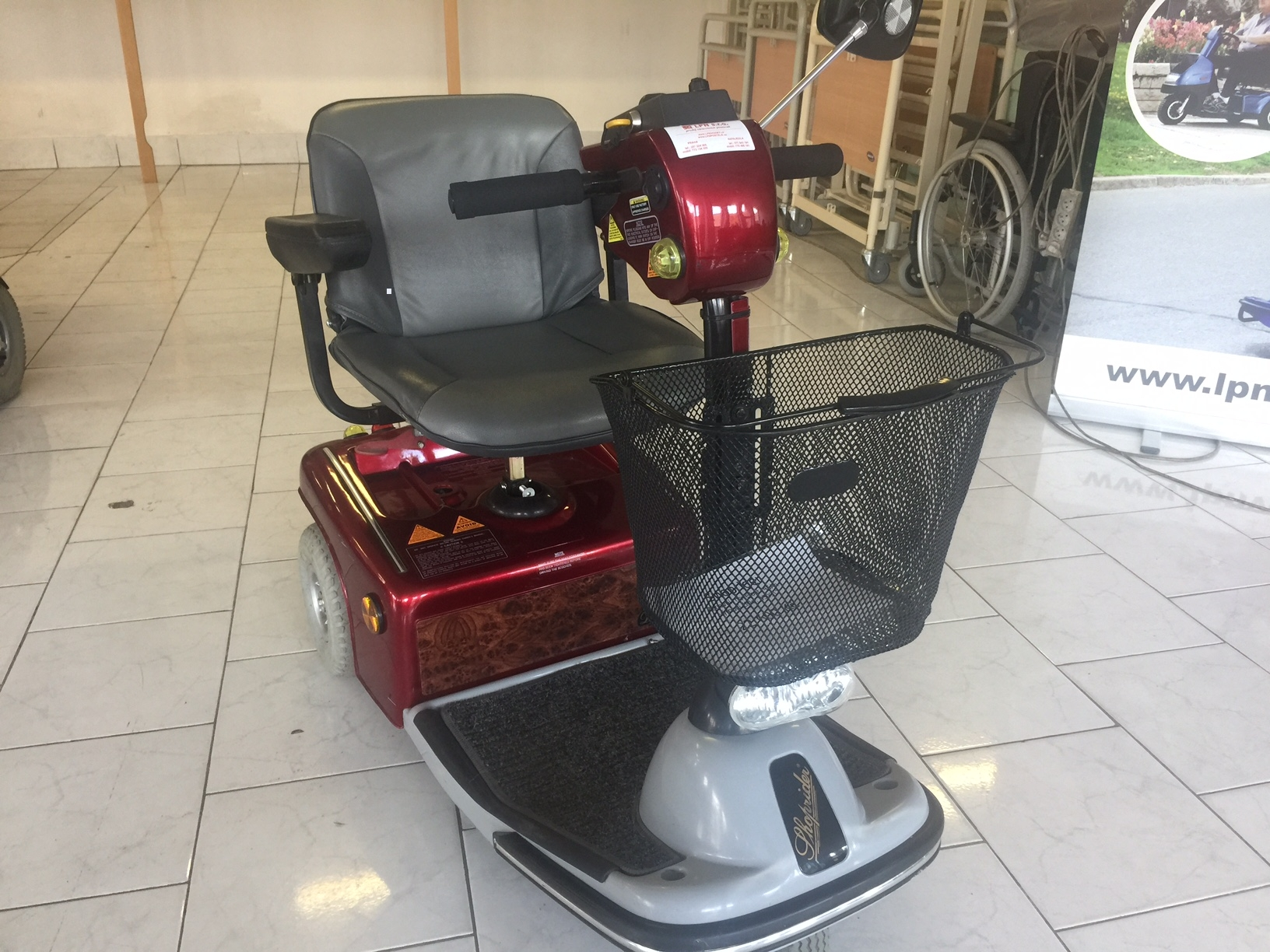 Shoprider Sovereign 3